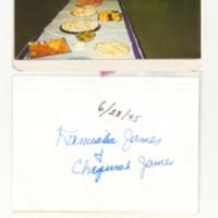 Photographs of Antioch A.M.E. members, 1995 June 28