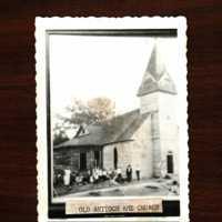 Photograph of old Antioch A.M.E. Church, Decatur, Georgia, 19th century