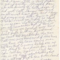 Letter, to Sylvia Clarke, 1985