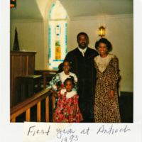 First Year at Antioch, Decatur, Georgia, 1993