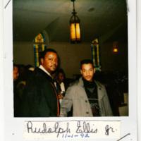 Photograph of Rudolph Ellis, Jr., 1992 November 1